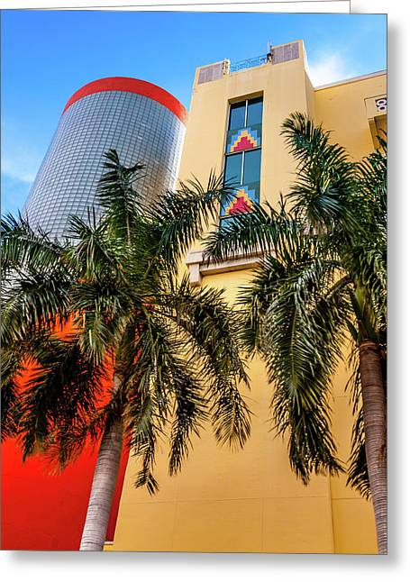 Heartbeat Of Miami Greeting Card