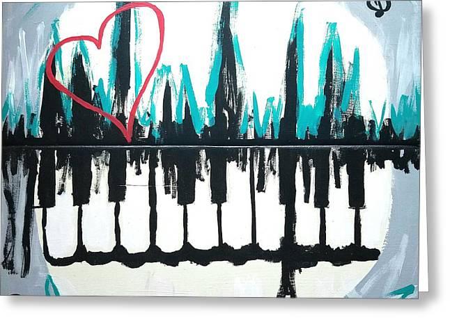 Heartbeat Of The City Greeting Card by Scott D Van Osdol