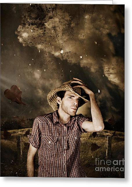 Heartland Of Outback Country Australia Greeting Card by Jorgo Photography - Wall Art Gallery