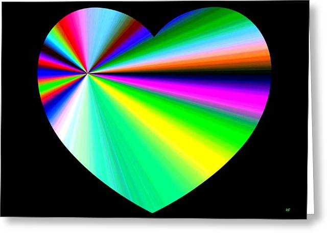 Heartline 3 Greeting Card by Will Borden