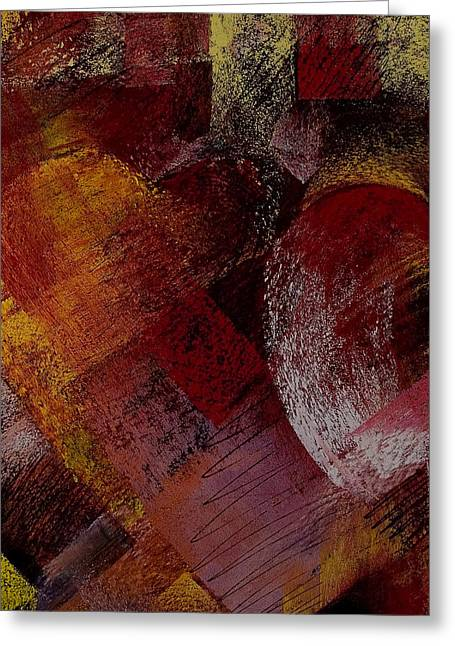 Hearts Greeting Card by David Patterson