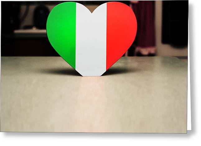 Hearty Italian Kitchen Greeting Card by Jorgo Photography - Wall Art Gallery