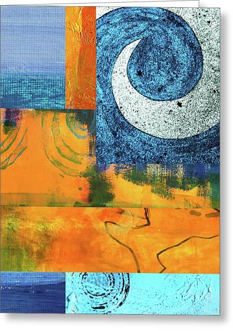 Heat Wave Greeting Card by Nancy Merkle