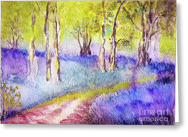 Heather Glade Greeting Card
