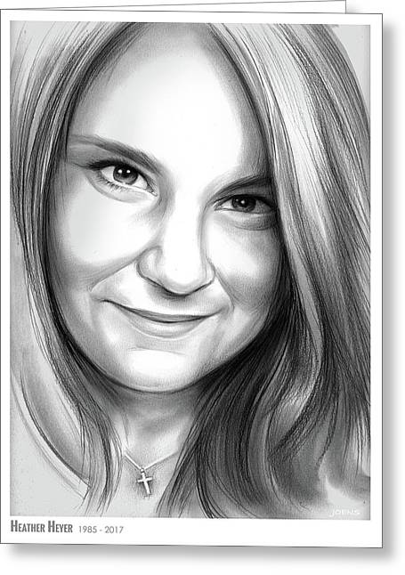 Heather Heyer Greeting Card