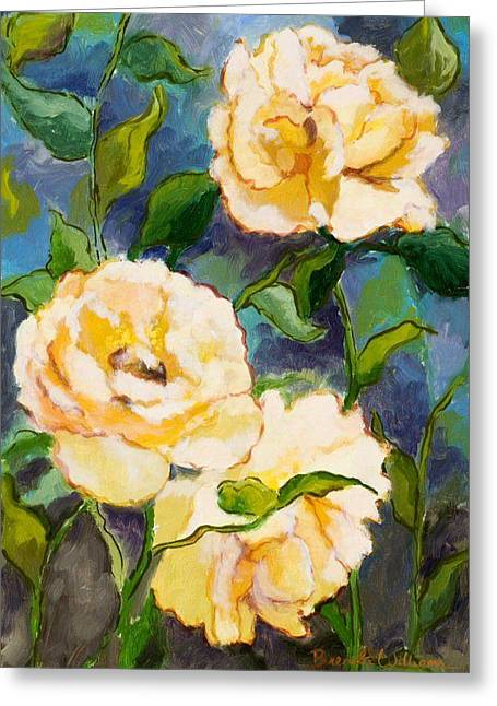 Heaven On Earth Roses Greeting Card by Brenda Williams