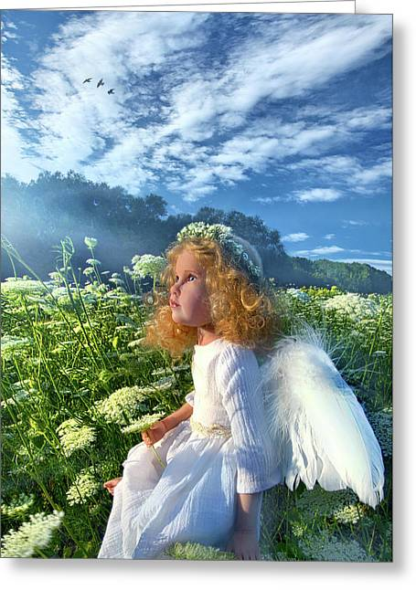 Greeting Card featuring the photograph Heaven Sent by Phil Koch