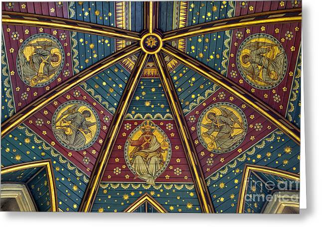Heavenly Ceiling Greeting Card by Tim Gainey