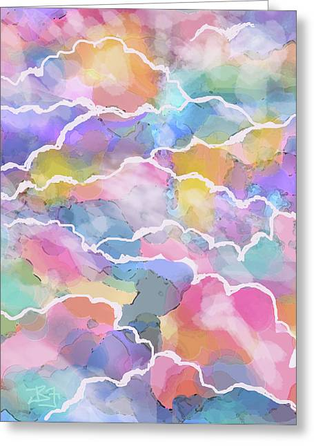 Heavenly Clouds Greeting Card