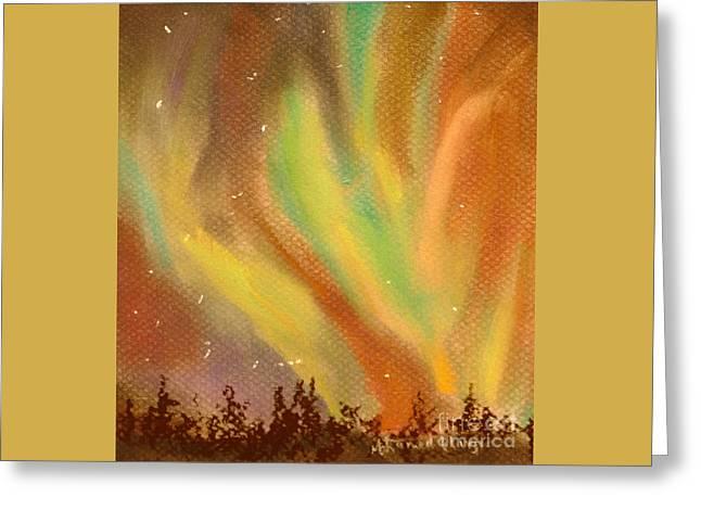 Heavenly Dance Greeting Card by Mohamed Hirji