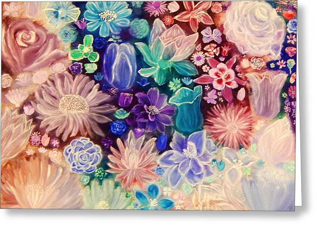 Heavenly Garden Greeting Card