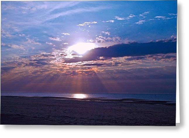 Greeting Card featuring the photograph Heavenly Skies by Brian Wright