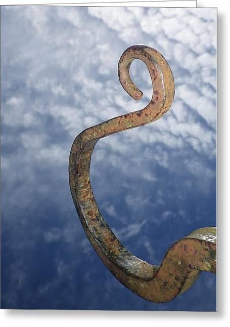 Heavenly Sky Hook Greeting Card