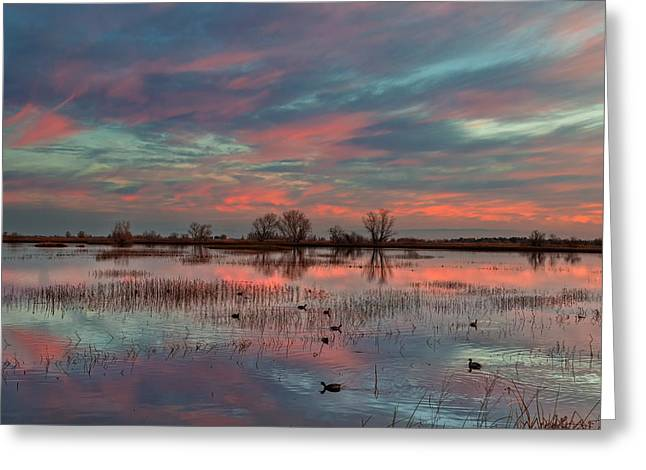 Heavenly Sunrise Greeting Card