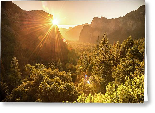 Heavenly Valley Greeting Card