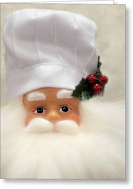 Heaven's Chef Greeting Card by Christine Till