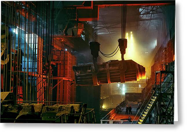 Heavy Industry Greeting Card