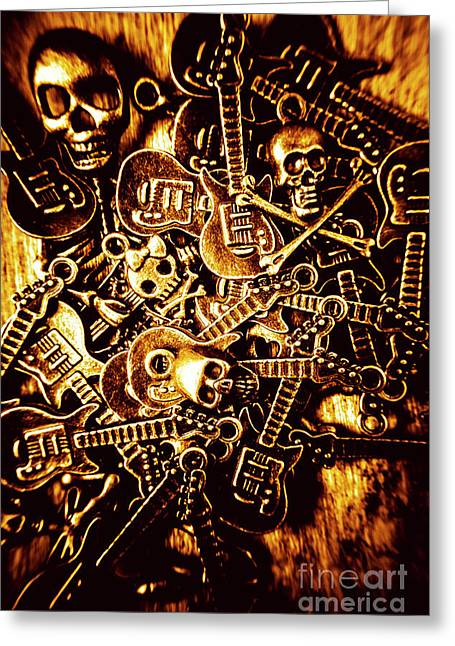 Heavy Metal Mix Greeting Card