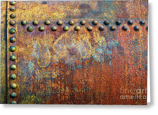 Heavy Metal Greeting Card by Tim Gainey