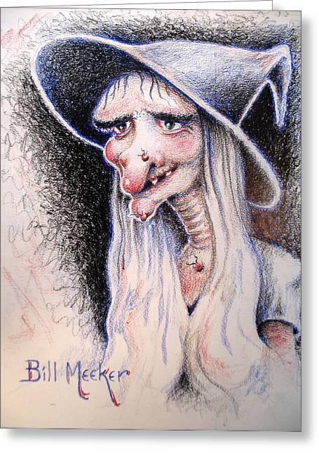 Hecate Greeting Card by Bill Meeker