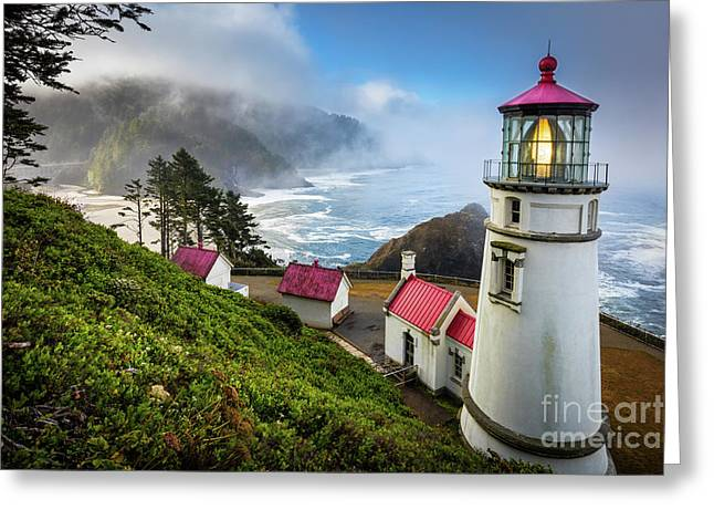 Heceta Fog Greeting Card