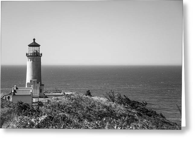 North Head Lighthouse Greeting Card by Ralf Kaiser