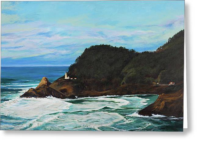 Heceta Head Lighthouse Greeting Card