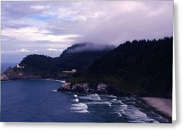 Heceta Head Lighthouse, Oregon Greeting Card