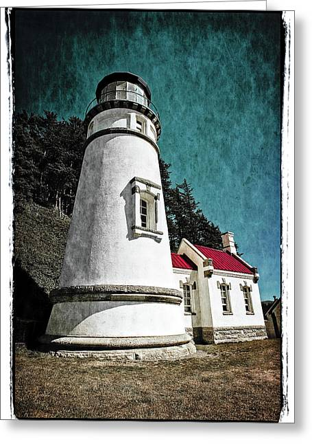 Hecitia Head Lighthouse Greeting Card