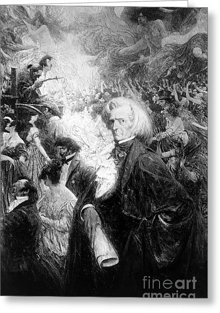 Hector Berlioz, French Composer Greeting Card