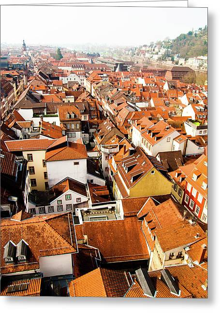 Heidelberg Cityscape Greeting Card