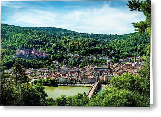 Heidelberg Germany Greeting Card by David Morefield