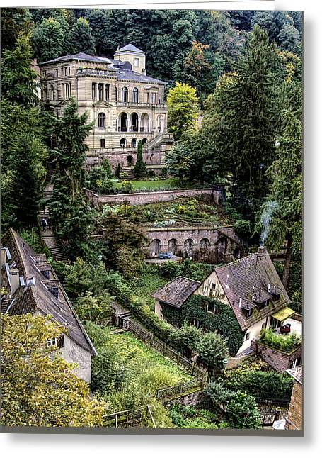 Greeting Card featuring the photograph Heidelberg Hillside by Jim Hill