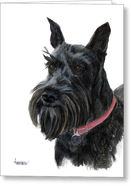 Heidi Greeting Card by Jimmie Trotter