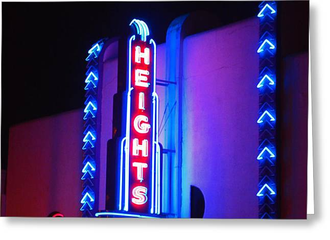 Heights Theater Greeting Card