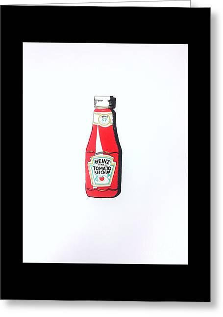 Heinz Ketchup Greeting Card