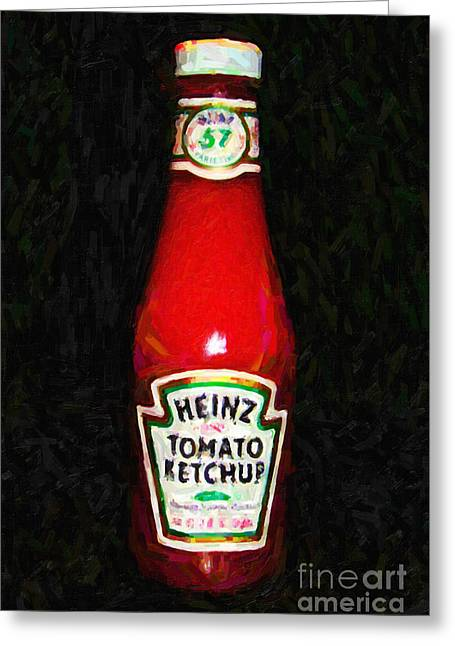 Heinz Tomato Ketchup Greeting Card