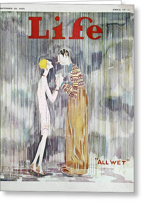Held: Magazine Cover, 1925 Greeting Card by Granger