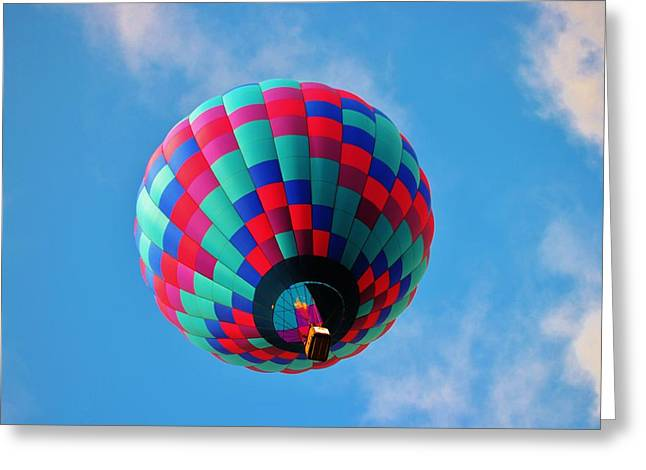 Helen Hot Air Balloon Greeting Card