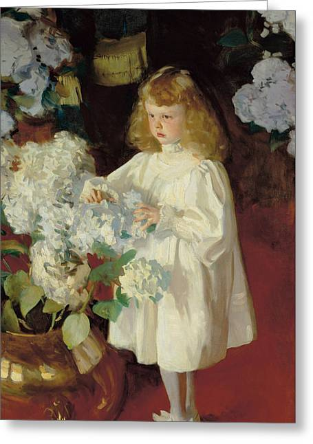 Helen Sears Greeting Card by John Singer Sargent