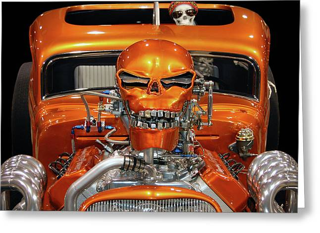 Hell Bent Hemi Greeting Card