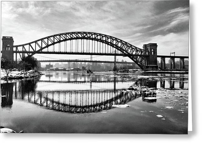 Hellgate Full Reflection Greeting Card