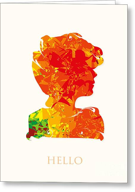 Cannes Hello M26 Greeting Card by Johannes Murat