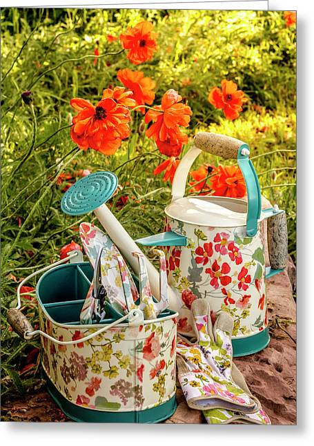 Greeting Card featuring the photograph Hello Summer by Teri Virbickis
