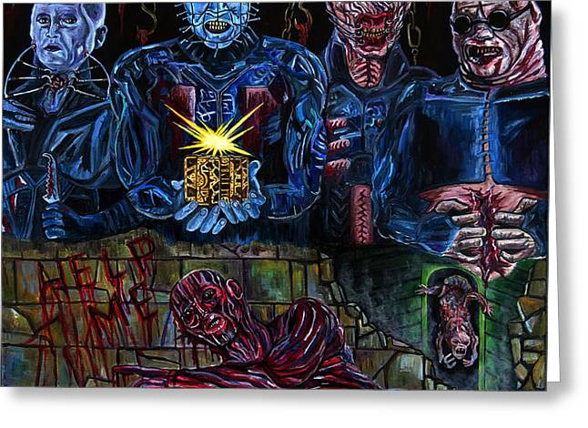 Hellraiser Greeting Card