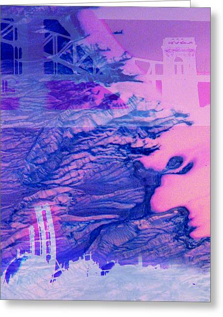 Hells Gate Greeting Card by Fran McNamara
