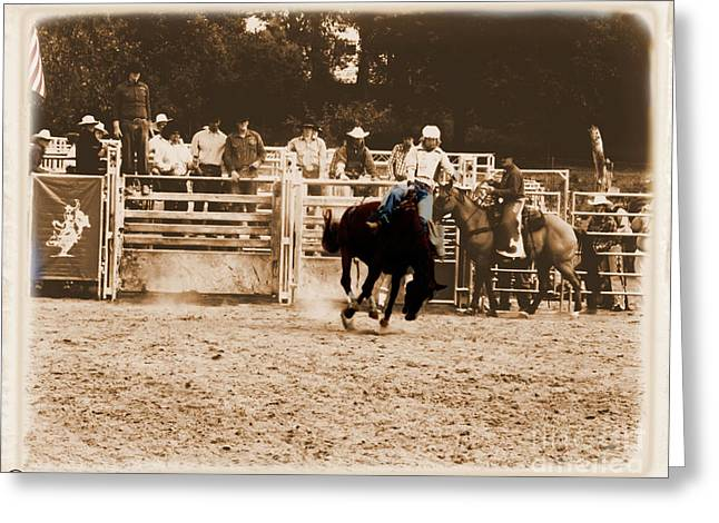 Helluva Rodeo-the Ride 2 Greeting Card