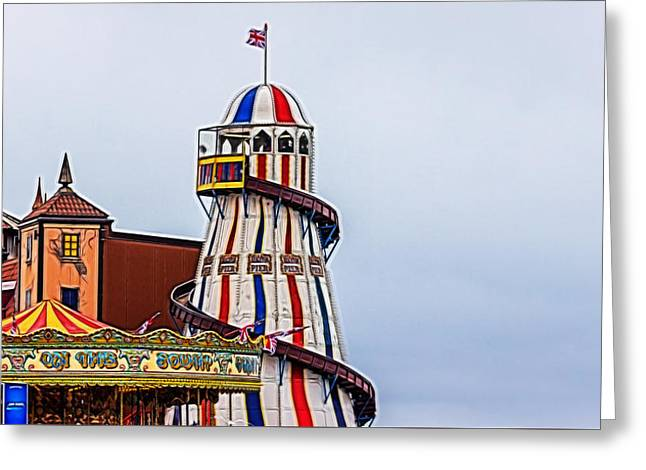 Helter Skelter Greeting Card by Angela Aird
