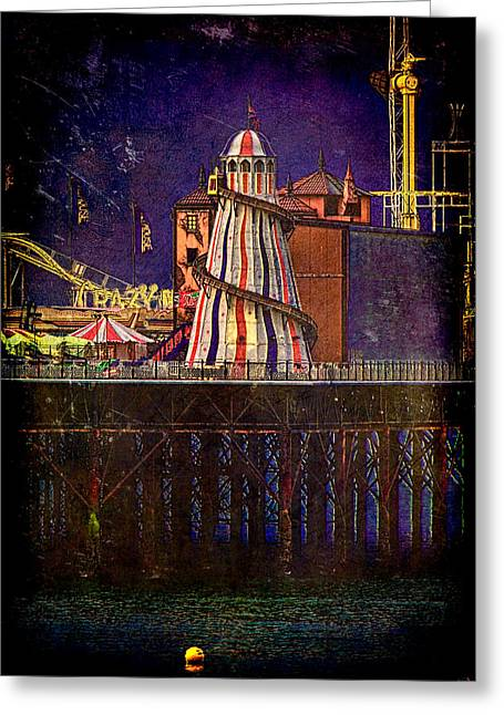 Helter Skelter Greeting Card by Chris Lord