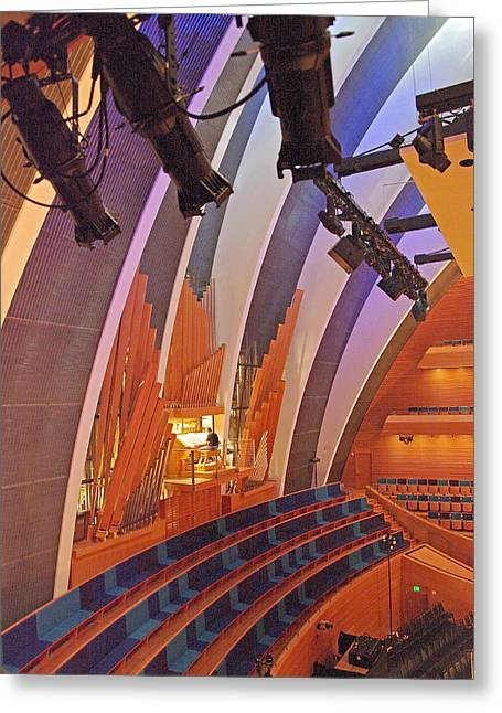 Helzberg Hall #3 Greeting Card
